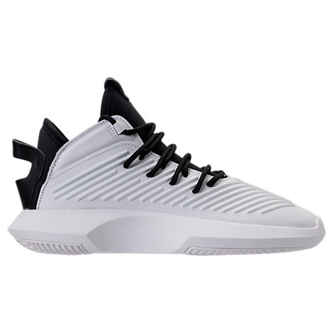 online store c1958 55632 ADIDAS ORIGINALS ADIDAS MENS CRAZY 1 ADV BASKETBALL SNEAKERS FROM FINISH  LINE, WHITE