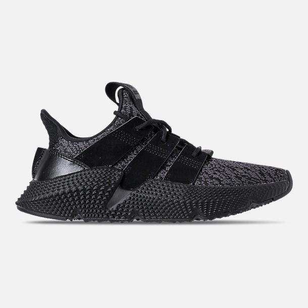 Right view of Boys' Grade School adidas Prophere Casual Shoes in Core Black