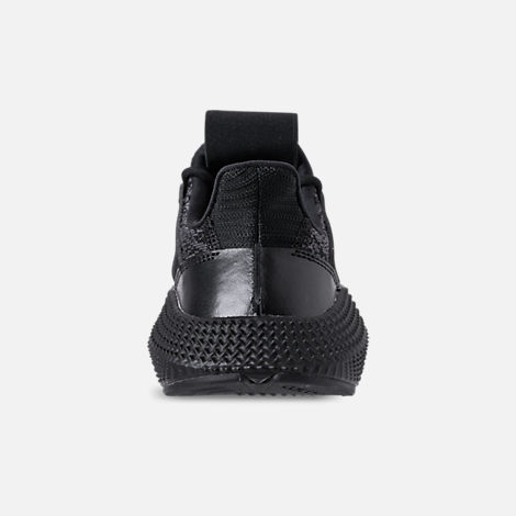 Back view of Boys' Grade School adidas Prophere Casual Shoes in Core Black