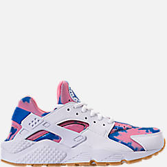 Women's Nike Air Huarache Run Print Casual Shoes