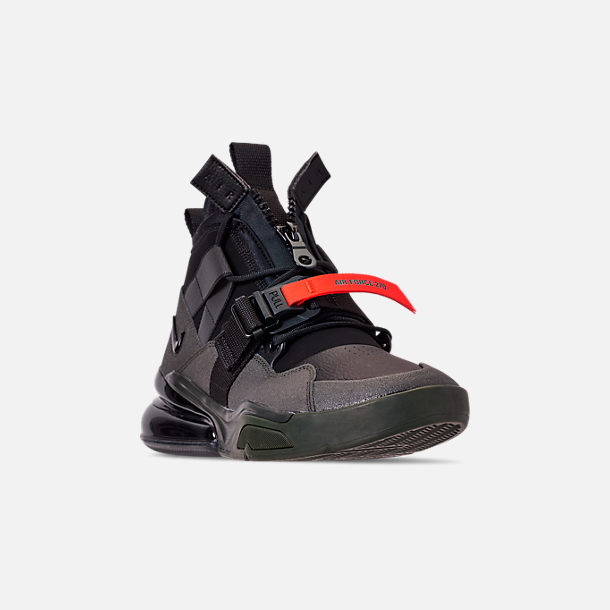 fe264c483c36 Three Quarter view of Men s Nike Air Force 270 Utility Off-Court Shoes in  Sequoia