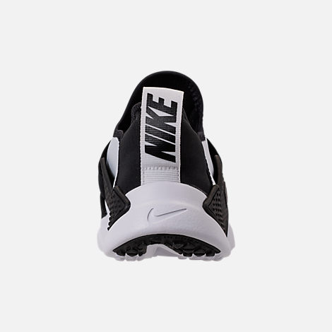 Back view of Boys' Big Kids' Nike Huarache Extreme Casual Shoes in White/Black