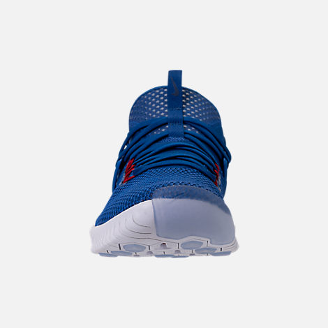 Front view of Men's Nike Free Metcon Training Shoes in Gym Blue/White/Team Red