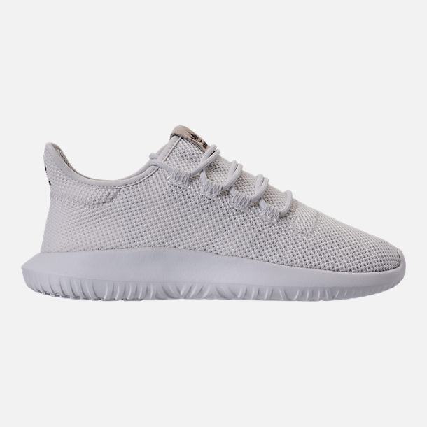Right view of Men's adidas Tubular Shadow Casual Shoes in Vintage White/Mystery Brown