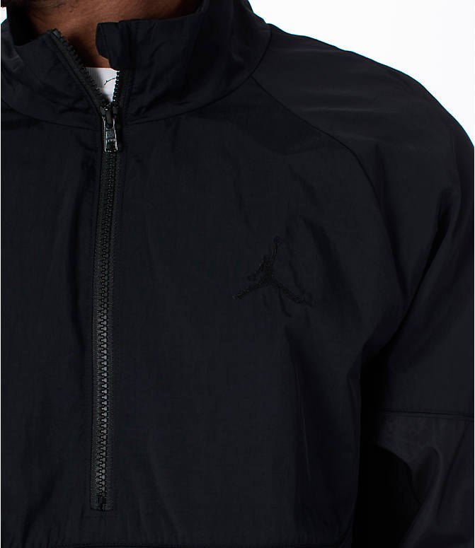Detail 1 view of Men's Jordan AJ Retro 3 Track Jacket in Black