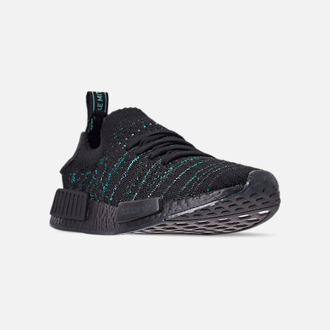 e8250bd3e Three Quarter view of Men s adidas Originals NMD R1 STLT x Parley Casual  Shoes in Blue