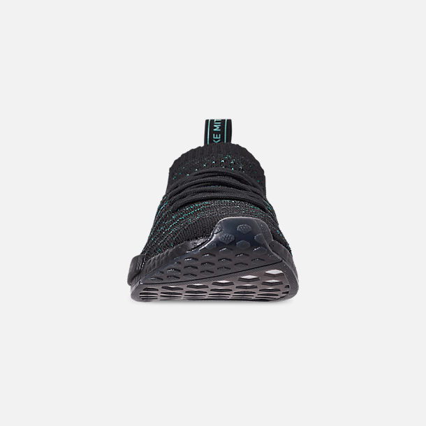 best website bba8f 5b46c Front view of Men s adidas Originals NMD R1 STLT x Parley Casual Shoes in  Blue Spirit