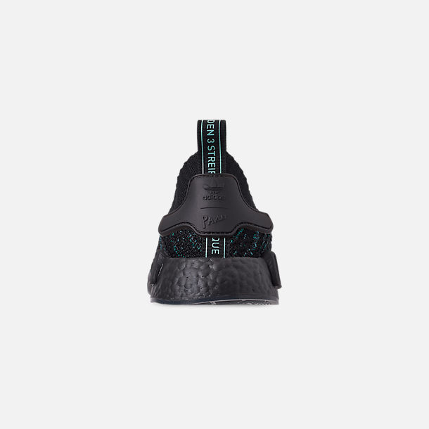 e0bca6ec89438 Back view of Men s adidas Originals NMD R1 STLT x Parley Casual Shoes in Blue  Spirit