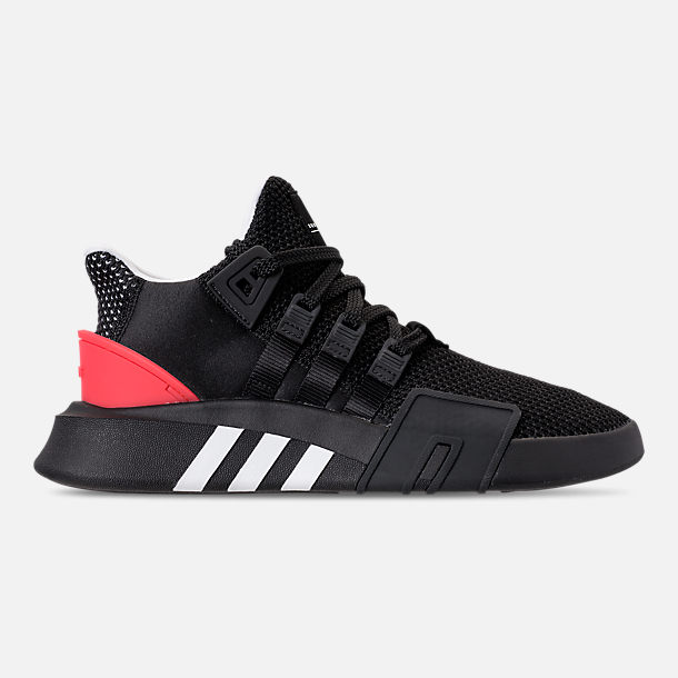 the best attitude 6a74b fb02e Right view of Mens adidas Originals EQT Bask ADV Off-Court Shoes in Core  Black