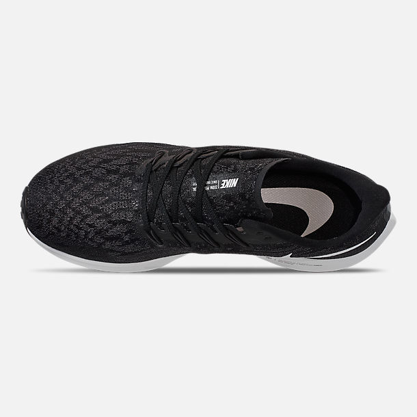 16ab2dd6e Top view of Men's Nike Air Zoom Pegasus 36 Running Shoes in Black/White/