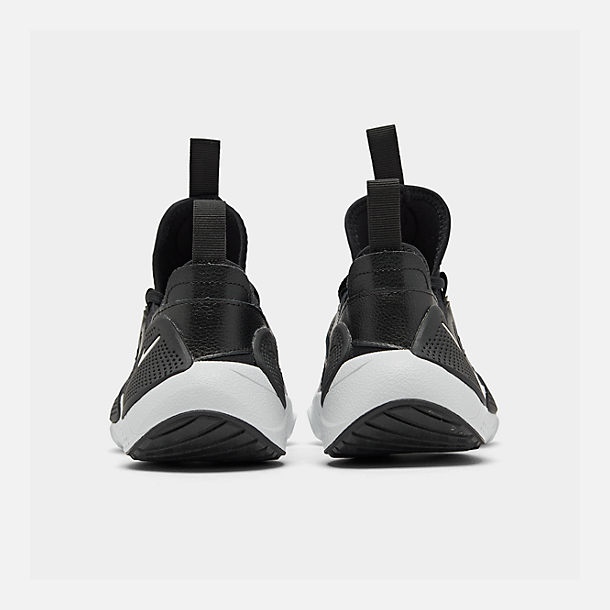 Left view of Boys' Big Kids' Nike Huarache E.D.G.E Casual Shoes in Black/White