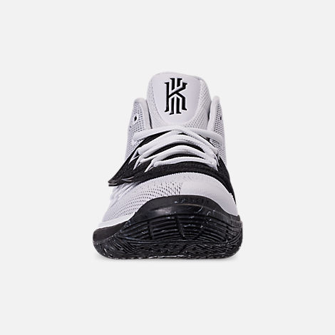 d93bc83a4a70 Front view of Boys  Big Kids  Nike Kyrie 5 Basketball Shoes in White