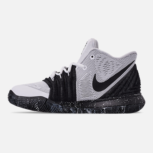 629e669031a4 Left view of Boys  Big Kids  Nike Kyrie 5 Basketball Shoes in White
