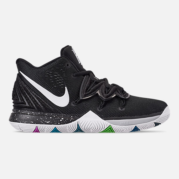 d9349dd656b Right view of Boys' Big Kids' Nike Kyrie 5 Basketball Shoes in Multi-