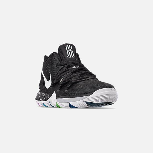 376558c7da3 Three Quarter view of Boys' Big Kids' Nike Kyrie 5 Basketball Shoes in Multi