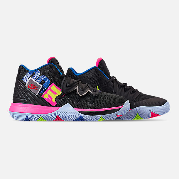 brand new d33df 59e13 Right view of Boys  Little Kids  Nike Kyrie 5 Basketball Shoes in Black