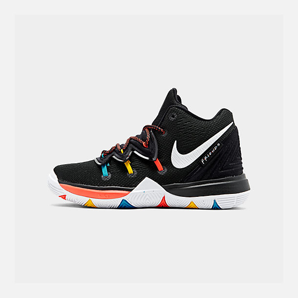 4568a3ead449 Right view of Boys  Little Kids  Nike Kyrie 5 Basketball Shoes in Black
