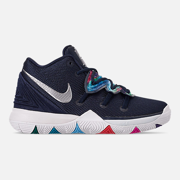 f2e55e00d05cb Right view of Boys  Little Kids  Nike Kyrie 5 Basketball Shoes in Multi  Color