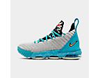 Boys' Grade School Nike Le Bron 16 Basketball Shoes by Nike
