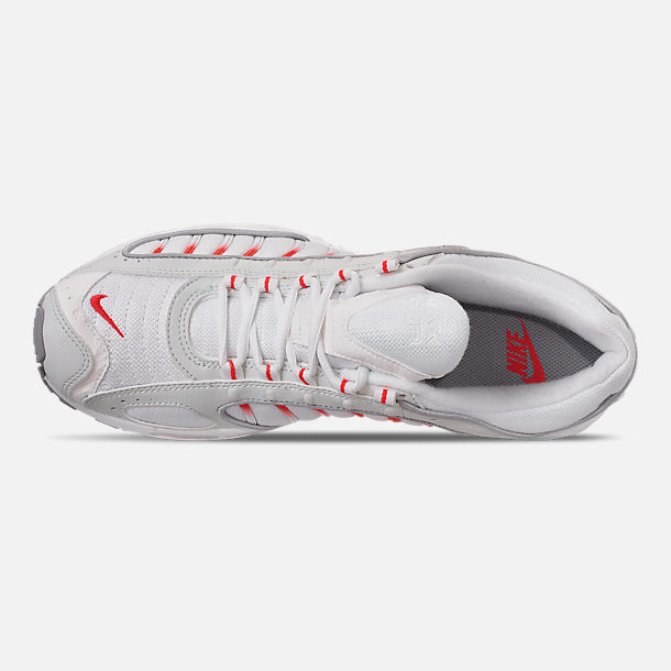 Top view of Men's Nike Air Max Tailwind IV Casual Shoes in Ghost Aqua/Red Orbit/Wolf Grey