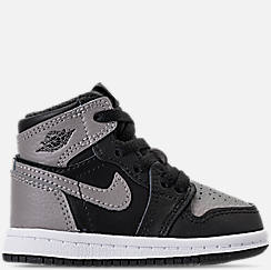 Kids' Toddler Air Jordan Retro 1 High OG Casual Shoes