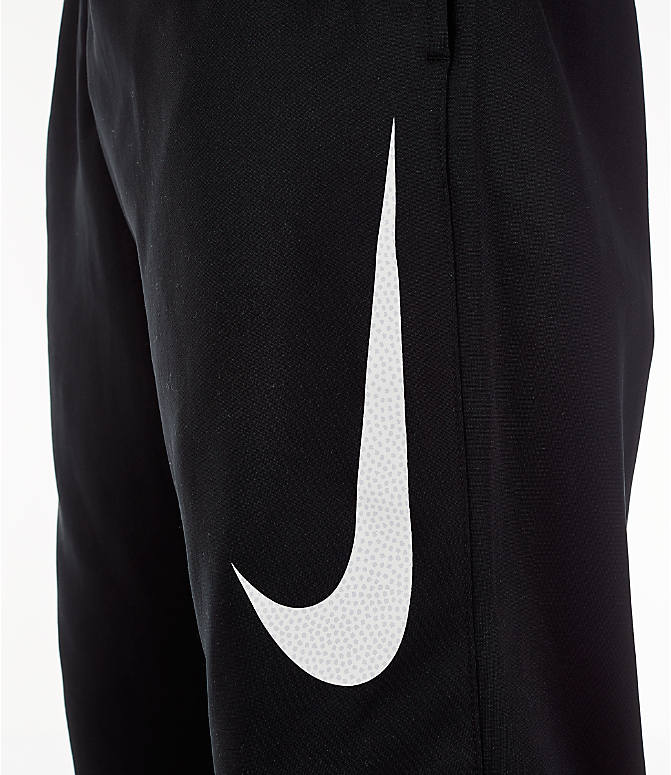 Detail 1 view of Men's Nike Therma Basketball Pants in Black