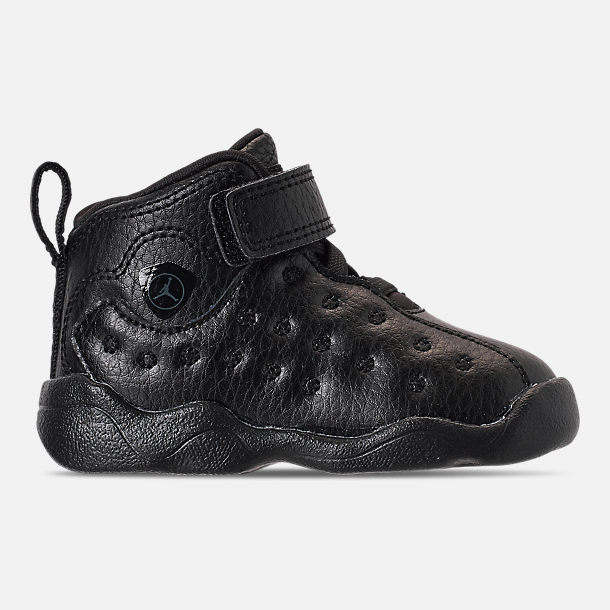 f48a8e1b9d5290 Right view of Boys  Toddler Jordan Jumpman Team II Basketball Shoes in Black  Dark
