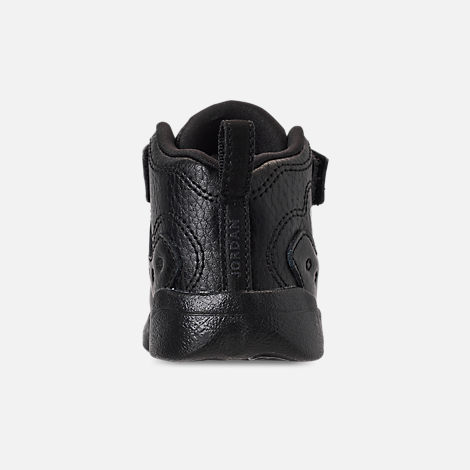 d53e983b2f59ac Back view of Boys  Toddler Jordan Jumpman Team II Basketball Shoes in Black  Dark