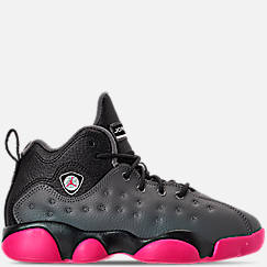 Girls' Little Kids' Jordan Jumpman Team II Basketball Shoes