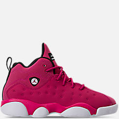 Girls' Preschool Jordan Jumpman Team II Basketball Shoes