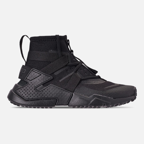 124ad80565 usa right view of boys big kids nike air huarache gripp casual shoes in  black 8f976