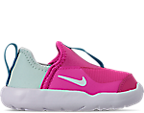 Girls' Toddler Nike Lil' Swoosh Running Shoes by Nike