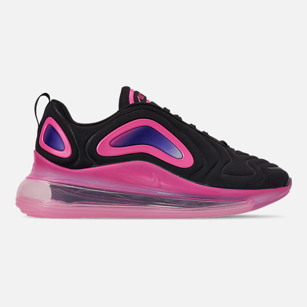 ab5f09eb0 Right view of Girls' Big Kids' Nike Air Max 720 Running Shoes in Black