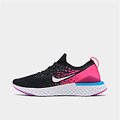 Girls' Big Kids' Nike Epic React Flyknit 2 Running Shoes