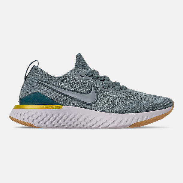 d9b91bb62e17fd Right view of Boys  Big Kids  Nike Epic React Flyknit 2 Running Shoes in