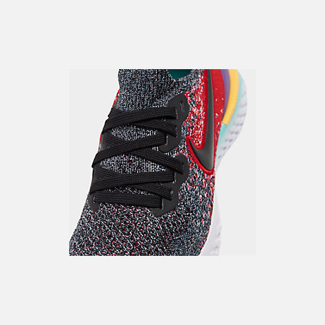 acb6d6405fbe4 Front view of Boys  Big Kids  Nike Epic React Flyknit 2 Running Shoes in