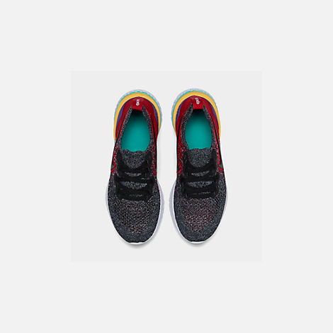 674d2a590fbf4 Back view of Boys  Big Kids  Nike Epic React Flyknit 2 Running Shoes in