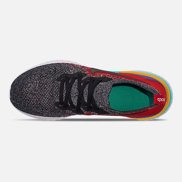 cb6f71e5b1b01 Top view of Boys  Big Kids  Nike Epic React Flyknit 2 Running Shoes in