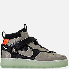 Boys' Big Kids' Nike Air Force 1 Utility Mid Casual Shoes