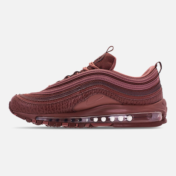 Left view of Men's Nike Air Max 97 SE Casual Shoes in Mahogany Mink/Smokey Mauve