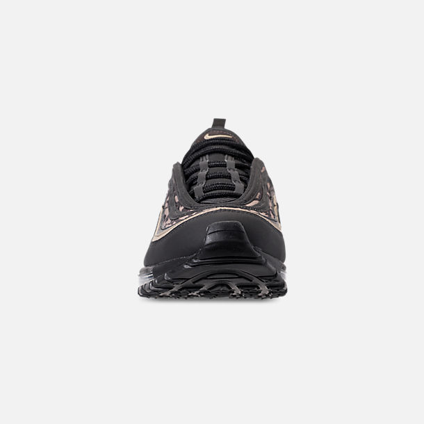 Front view of Men's Nike Air Max 97 Casual Running Shoes