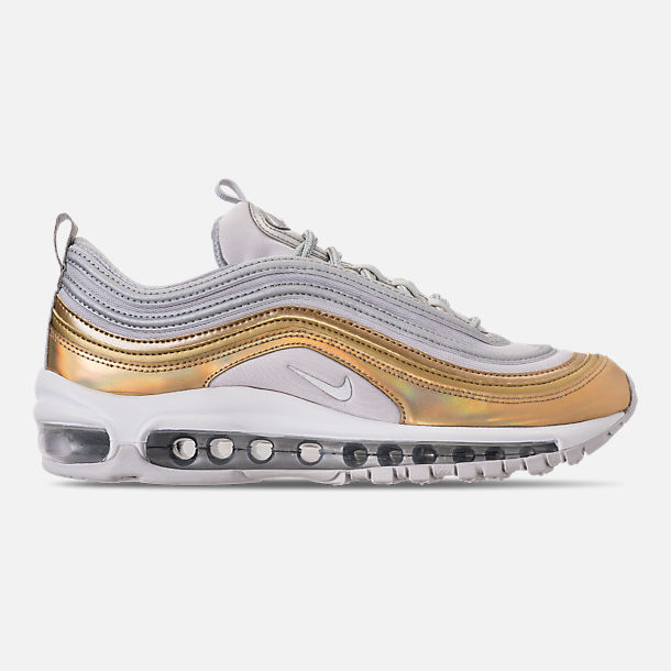 Right view of Women's Nike Air Max 97 SE Casual Shoes in Vast Grey/Metallic Silver