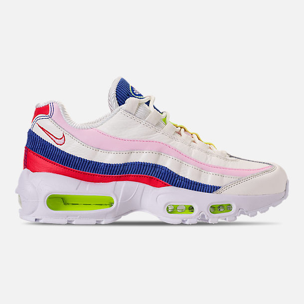 Right view of Women's Nike Air Max 95 Special Edition Casual Shoes in Sail/Arctic Pink/Racer Blue