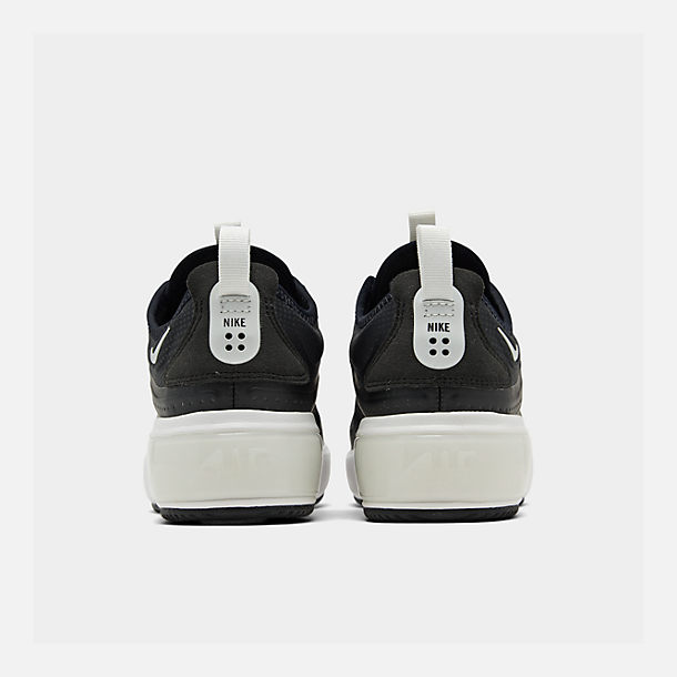 Left view of Women's Nike Air Max DIA Casual Shoes in Black/Summit White/Summit White
