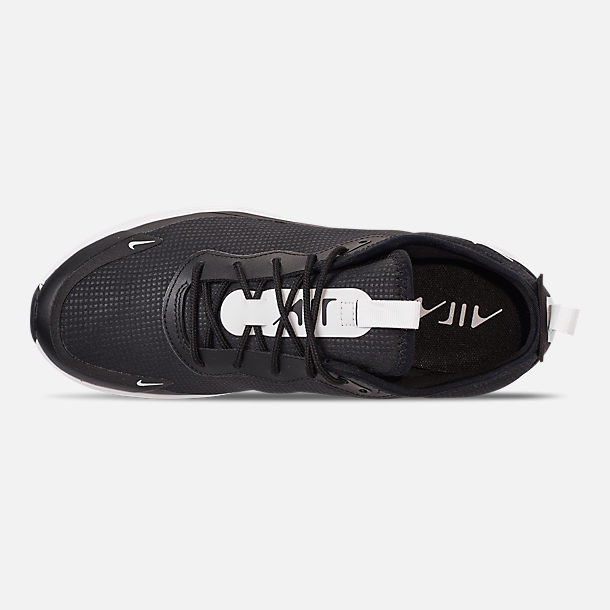 Top view of Women's Nike Air Max DIA Casual Shoes in Black/Summit White/Summit White
