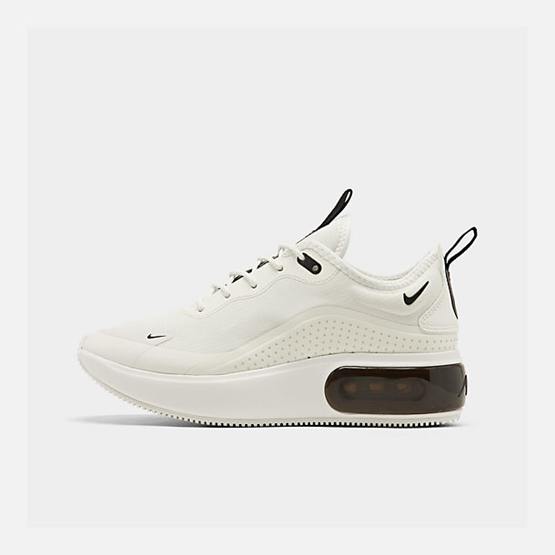 new concept 6d37d 13530 Right view of Women s Nike Air Max DIA Casual Shoes in Summit White Black