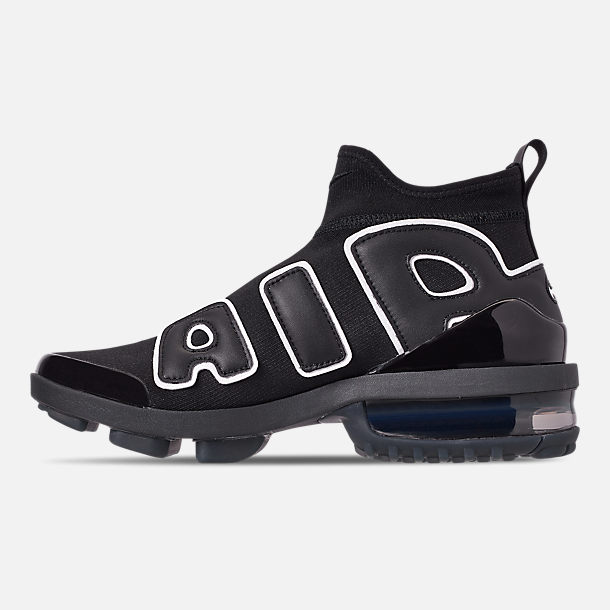 Left view of Women's Nike Airquent Casual Shoes in Black/Black/Black