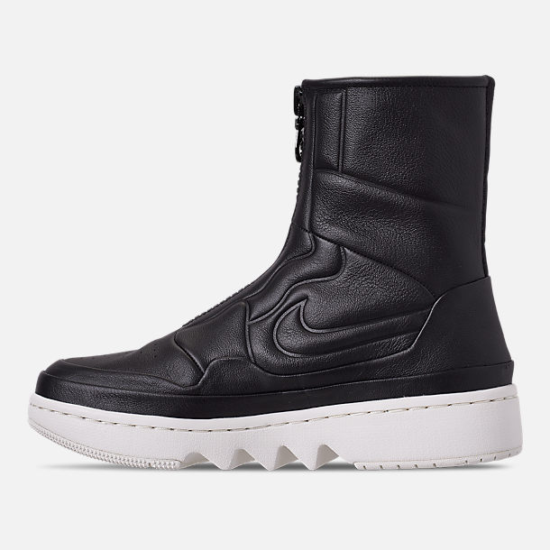 Left view of Women's Air Jordan 1 Jester XX Casual Shoes in Black/Sail