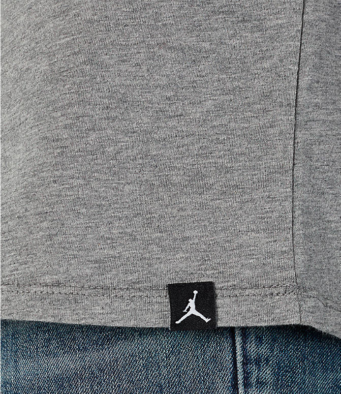 Detail 2 view of Men's Jordan Sportswear Oversized Jumpman T-Shirt in Carbon Heather