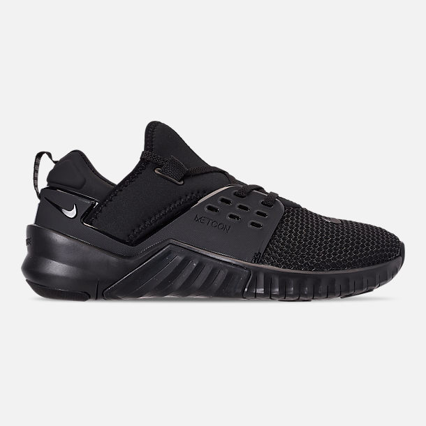 Right view of Men's Nike Free X Metcon 2 Training Shoes in Black/Black